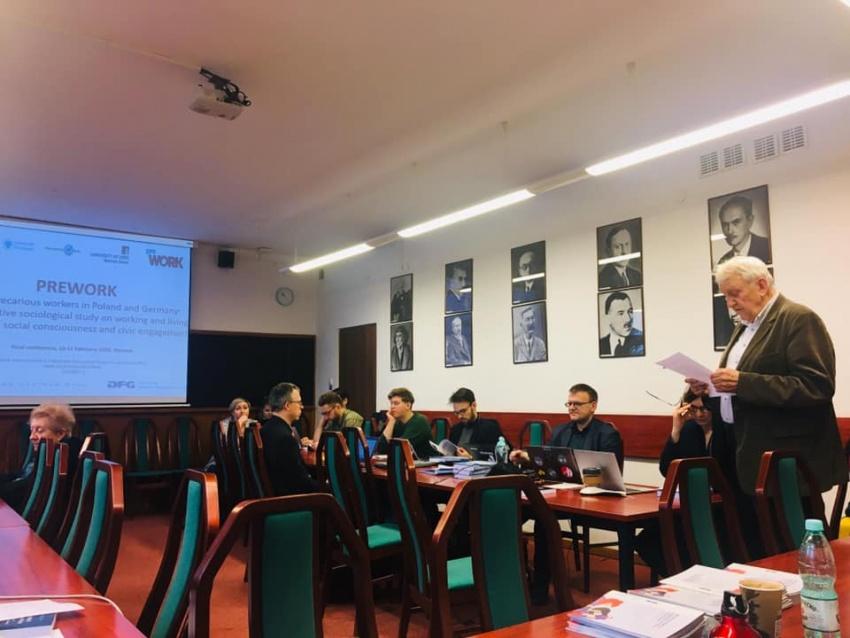 Badacze CNB-Young nakońcowej konferencji projektu PREWORK